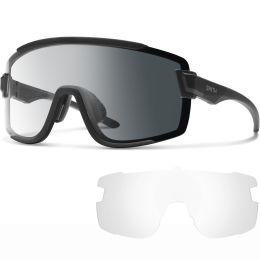 SMITH WILDCAT MATTE BLACK PHOTOCHROMIC CLEAR TO GRAY 21