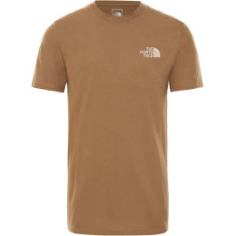 THE NORTH FACE U S/S WALLS ARE MEANT FOR CLIMBING TEE UTILITY BROWN 21