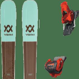 Pack ski alpin VOLKL VOLKL SECRET 102 20 + TYROLIA ATTACK² 13 GW BRAKE 110 [A] RED 20 - Ekosport