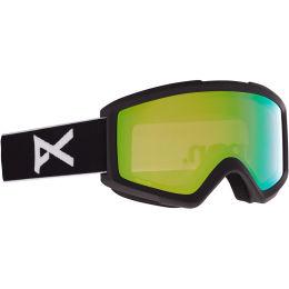 Protection du skieur ANON ANON HELIX 2 PRCV W/SPR BLACK/VARIABLE GREEN 21 - Ekosport