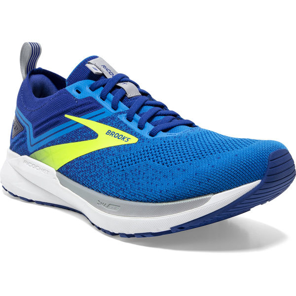 BROOKS Chaussure running Ricochet 3 Blue/nightlife/alloy Homme Bleu/Blanc taille 7