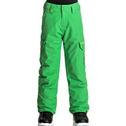 QUIKSILVER PORTER YOUTH PT KELLY GREEN 18