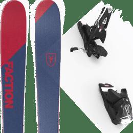 Pack ski alpin FACTION FACTION CANDIDE 0.5 19 + LOOK SPX 12 GW B90 BLACK 22 - Ekosport