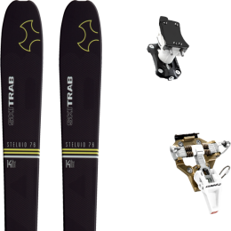 SKI TRAB STELVIO 76 21 + DYNAFIT SPEED TURN 2.0 BRONZE/BLACK 21