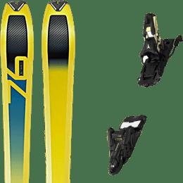 Ski randonnée DYNAFIT DYNAFIT SPEED 76 20 + ATOMIC SHIFT 13 MNC N BLACK/GOLD 90 22 - Ekosport