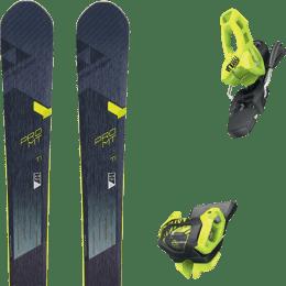 Pack ski alpin FISCHER FISCHER PRO MT 95 TI 19 + TYROLIA ATTACK² 11 GW BRAKE 100 [L] FLASH YELLOW 20 - Ekosport