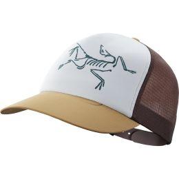 ARC'TERYX BIRD TRUCKER HAT ELK/FLUX/DELOS GREY 21