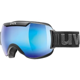 Ótica - Segurança UVEX UVEX DOWNHILL 2000 FM BLACK MAT MIRROR BLUE 21 - Ekosport