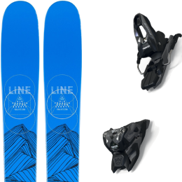 LINE SIR FRANCIS BACON SHORTY JR 21 + MARKER FREE TEN ID BLACK/ANTHRACITE (+SCREW KIT) 21