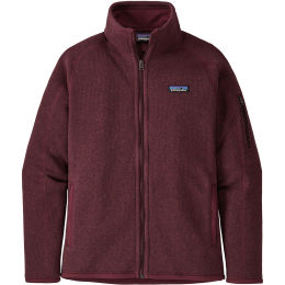 PATAGONIA W'S BETTER SWEATER JKT CHICORY RED 21