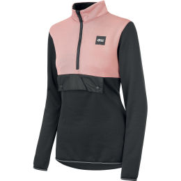 PICTURE GATES PULLOVER W MISTY PINK BLACK 21