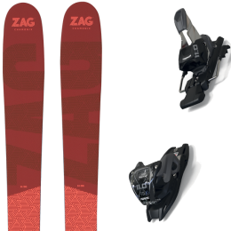 ZAG H96 LADY 21 + MARKER 11.0 TCX BLACK/ANTHRACITE 20