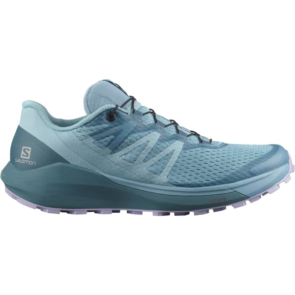 SALOMON Chaussure trail Sense Ride 4 Delphinium Blue/mallard Blue/lavender Femme Bleu taille 3.5