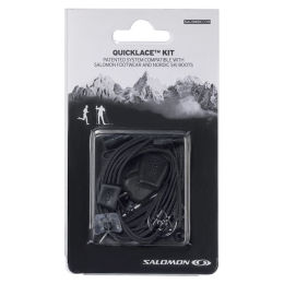 SALOMON QUICKLACE KIT BLACK 20