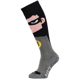 BARTS SKISOCK SUPER HERO KIDS BLACK 21