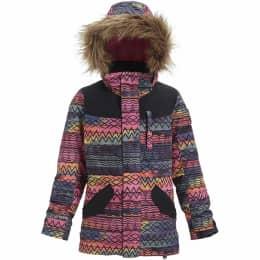 Vêtement de ski BURTON BURTON GIRLS AUBREY PARKA JACKET TNCTDR/TRUBLK 19 - Ekosport