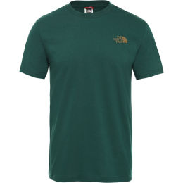 THE NORTH FACE M S/S SIMPLE DOME TE NIGHT GREEN 20