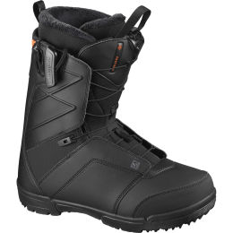 SALOMON FACTION BLACK/BLACK/RED ORANGE 21