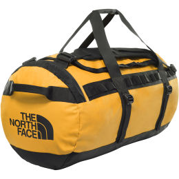 THE NORTH FACE BASE CAMP DUFFEL M SUMMIT GOLD/TNF BLACK 21