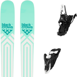 BLACK CROWS ATRIS BIRDIE 21 + ATOMIC SHIFT 10 MNC N BLACK/WHITE 110  21