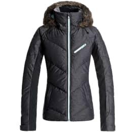 Boutique ROXY ROXY SNOWSTORM JKT TRUE BLACK 19 - Ekosport