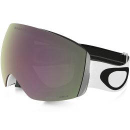 OAKLEY FLIGHT DECK MATTE WHITE / PRIZM HI PINK IRIDIUM 21