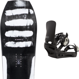 RIDE SUPERPIG 21 + BURTON CARTEL BLACK 21