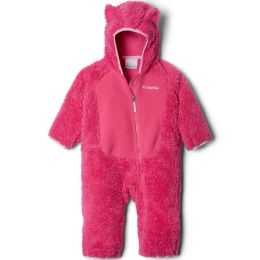 COLUMBIA FOXY BABY SHERPA BUNTING PINK ICE/PINK 20