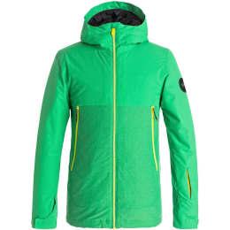 Vêtement de ski QUIKSILVER QUIKSILVER SIERRA YOUTH JKT KELLY GREEN 18 - Ekosport