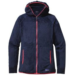 Offre spéciale PATAGONIA PATAGONIA R3 HOODY W NAVY BLUE 16 - Ekosport