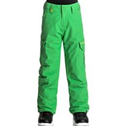 Textile QUIKSILVER QUIKSILVER PORTER YOUTH PT KELLY GREEN 18 - Ekosport