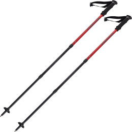 SUMMIT POLES TIBET TWISTLOCK RED 21