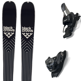 BLACK CROWS DIVUS 21 + MARKER 11.0 TCX BLACK/ANTHRACITE 20