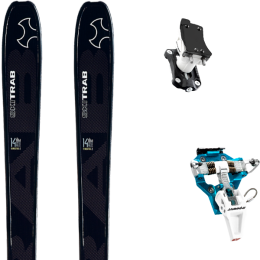 SKI TRAB MAESTRO.2 21 + DYNAFIT SPEED TURN 2.0 BLUE/BLACK 21