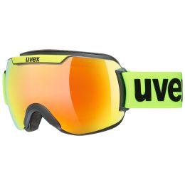 UVEX DOWNHILL 2000 CV BLACK MAT/MIR ORANGE/COL GREEN 21