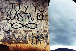 Frases de Acción Poética en Español (Latinoamericana) - Tu y yo hasta el infinito.