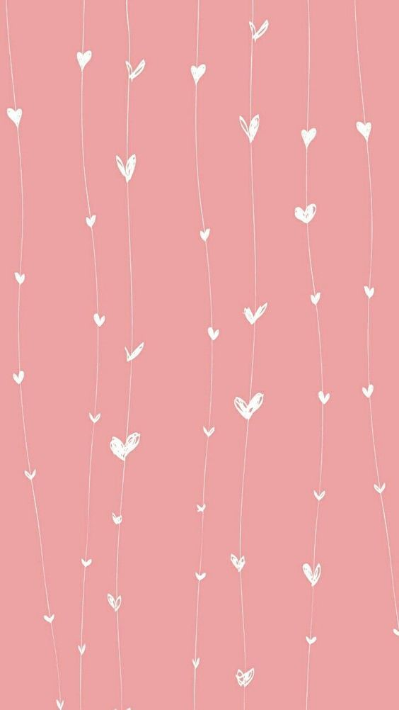 Fondos de Pantalla con Frases - Wallpaper cortina de corazones