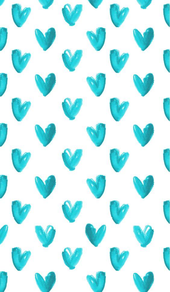 Fondos de Pantalla con Frases - Green Hearts (Wallpaper)