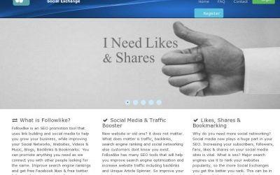Followlike.net Review- Followlike Gives You Free Social Shares And Traffic