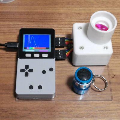 宝石の鑑別のための分光光度計