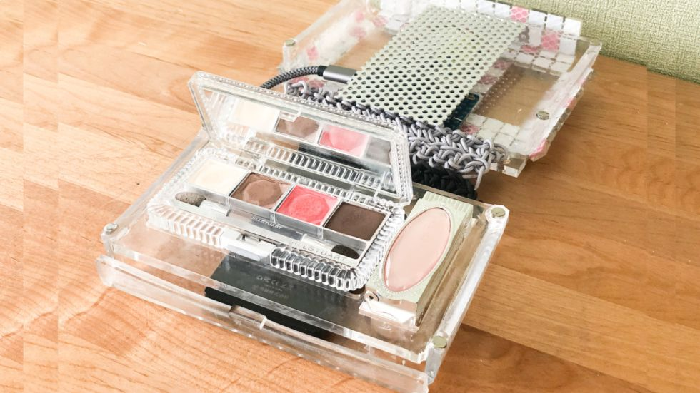 Power of Makeup! ピカピカCosmetic box