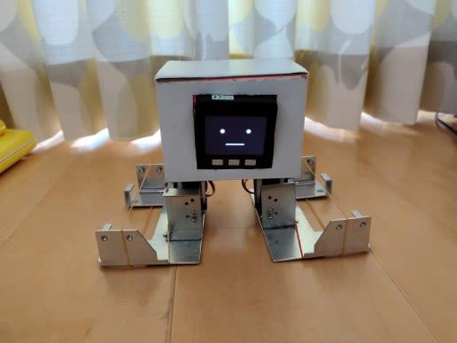 M5stackで2足歩行ロボットの作成