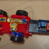 小4理科学校教材の車を前進・停止をリモート操作可能にする