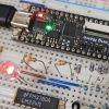 オペアンプを使ったLED電流制御―ラダー抵抗型D/A変換の結果でLED電流を制御する