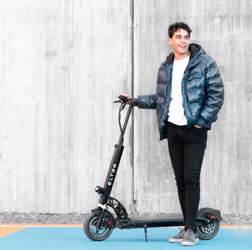 Eldrivo Testar: Eltra scooter