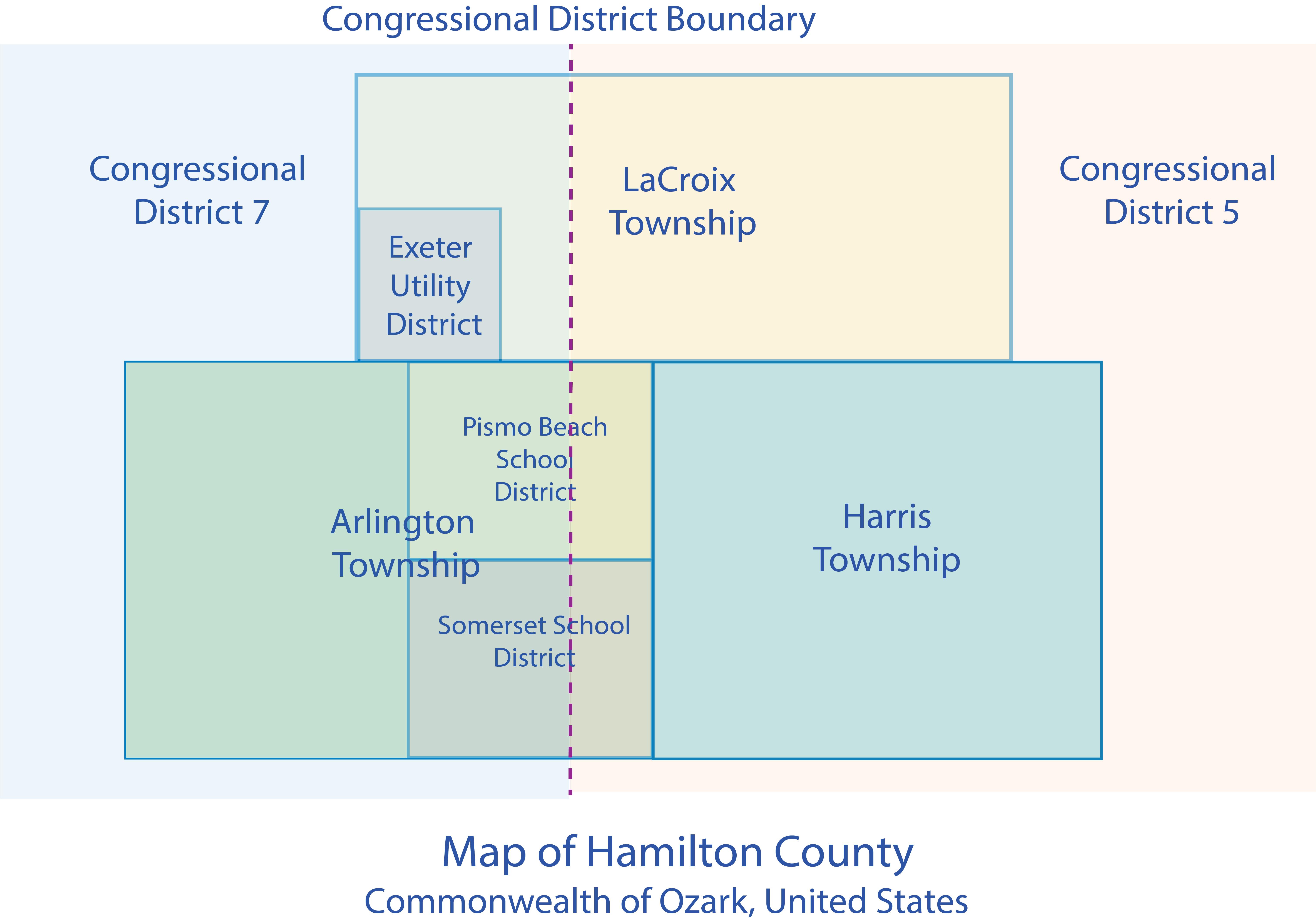 Hamilton County Electoral Map