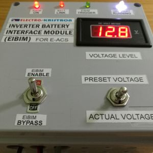 Electrokristron Inverter Battery Monitor EIBIM