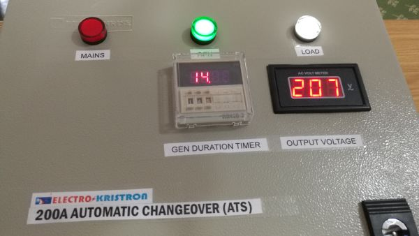 200A Electrokristron Automatic Changeover -ATS