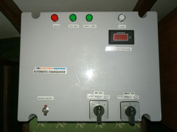 100A Electrokristron Automatic Changeover for 3 power sources