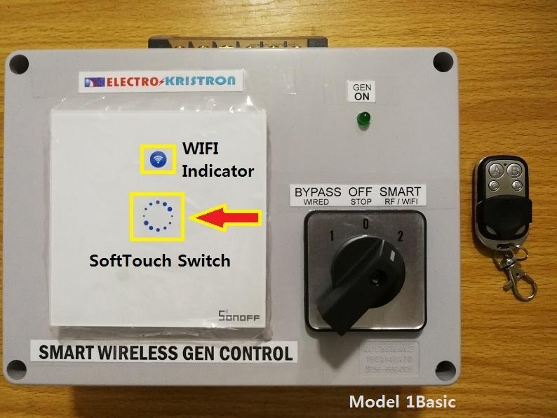 Electrokristron Smart Wireless Gen Control Unit ES-GCU